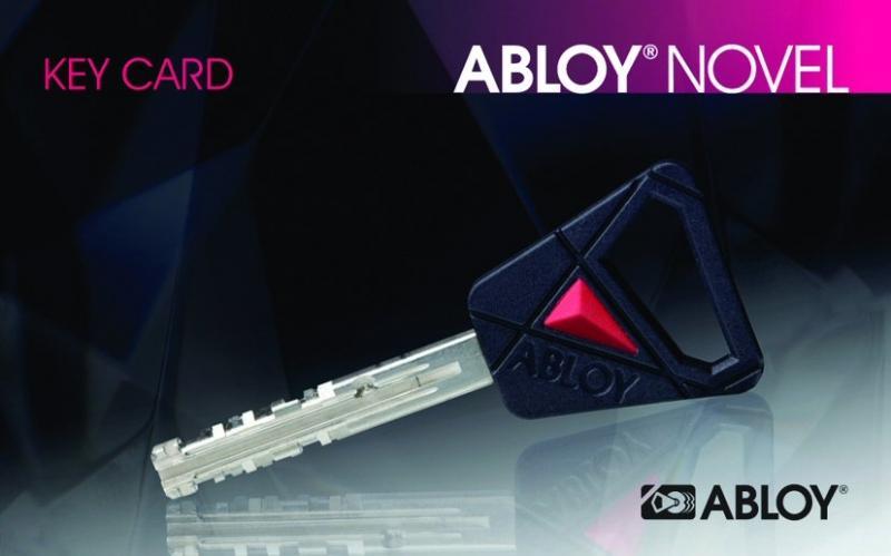 ff316e4f317 Osa võtmeid on kaitstud turvakaardiga (ABLOY NOVEL, ...