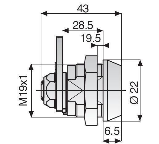 CAM LOCK ABLOY CL103C CLASSIC   LukuExpert