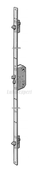 3 Point Locks : Point mortise lock fix l mm right lukuexpert