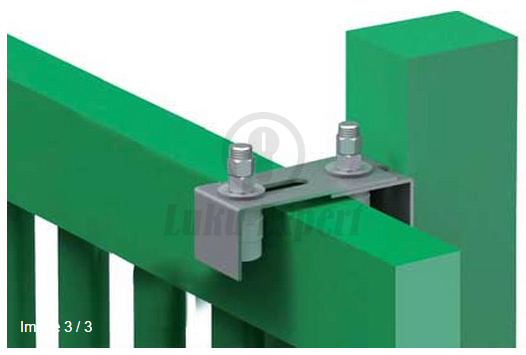 Sliding Gate Adjustable Roller Guide Ibfm 467 2 With Two