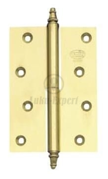 BRASS HINGE AMIG 1007 120x80x3 CHROME PLATED RIGHT