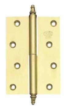 BRASS HINGE AMIG 1007 120x80x3 LEFT (polished, varnished)