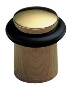 DOORSTOP AMIG 202-28 ANT/BRASS Ø28mm
