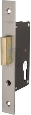 EURO MORTISE LOCK SANTOS 721-30 DEADBOLT+STRIKING PLATE