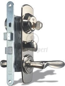 HIGH SECURITY LOCK SET ASSA 2000 BRASS