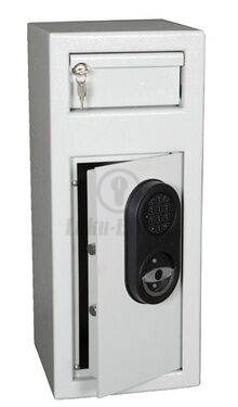 DEPOSIT SAFE 60x25x25cm WITH ELECTRONICAL CODE LOCK