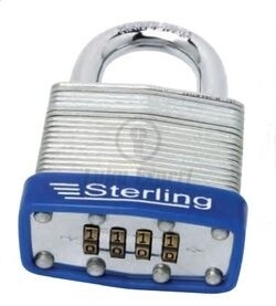 COMBINATION PADLOCK STERLING 146 (with 4-digit code)