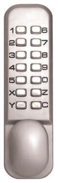 ЗАМОК КОДОВЫЙ МЕХАНИЧЕСКИЙ STERLING 2230 ХРОМ (подходит для использования вне помещений)