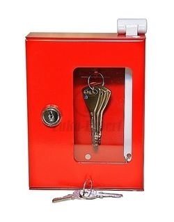 EMERGENCY EXIT KEY CONTROL CABINET (with a hammer)