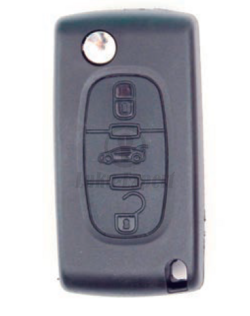 CITROEN CAR KEYSHELL (WITHOUT ELECTRONICS)