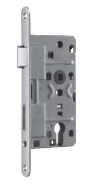 EURO MORTISE LOCK NEMEF 141 LEFT (FOREND PLATE 24mm)