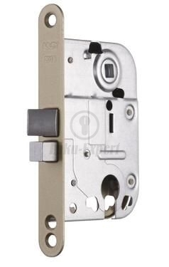 MORTISE LOCK ABLOY 2018 LIGHT BROWN PAINTED EI15