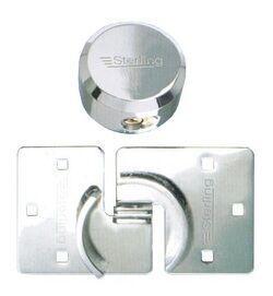 ЗАМОК НАВЕСНОЙ VAN LOCK STERLING (замок повышенной безопасности для автофругона, грузового автомобиля и т. п.; крепёжные петли в комплекте)