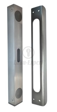 GATE LOCK STRIKING PLATE STAINLESS STEEL (for LC302)