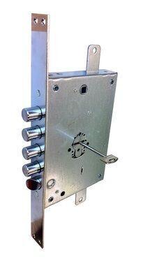 GARAAŽILUKK SECUREMME 2500 MS (kaasas 3 võtit + hooldusvõti, käelisus vahetatav lukustusasendis) B max=45mm