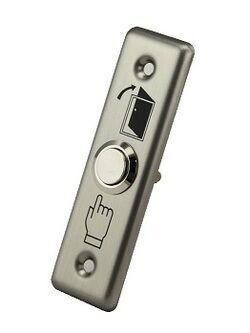 LÜLITI (METALL) OT, ROOSTEVABA PLAADIGA EXIT DE02(30*90*3mm)
