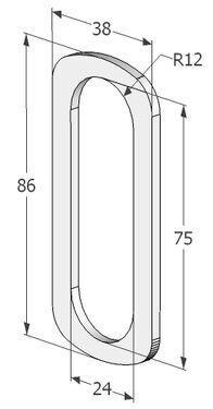 SÜDAMIKUKATTE ALUS AB 2056 profiiluksele 1,5mm (366)