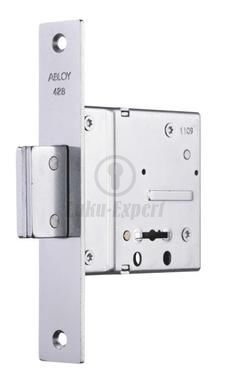 HIGH SECURITY LOCK SET ABLOY 428+963+0036 43mm key (short) DIY