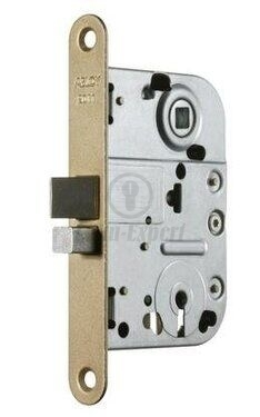 MORTISE LOCK ABLOY 2011 LIGHT BROWN PAINTED