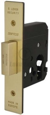 HIGH SECURITY LOCK SANTOS 731-45 (to be used with eurocylinder)