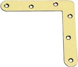 FLAT CORNER AMIG  2-80 K, 80x80x17mm