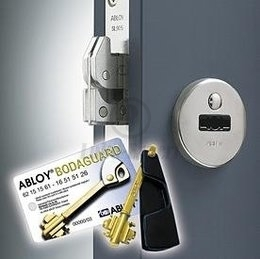 HIGH SECURITY LOCK SET ABLOY BODAGUARD SL905+961 CR +LP781 (key 47mm, for rebated doors)