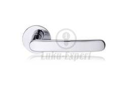 DOOR HANDLE ABLOY POLAR 6/002 BRASS/CR (spring loaded, 40-60mm doors)
