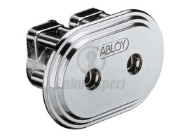 CYLINDER ABLOY CY026C CLASSIC CHROME (twin cylinder for rim lock Abloy RI212)