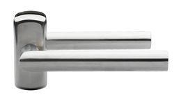 DOOR HANDLE ABLOY 3-19SS/0650 STAINLESS STEEL (spring loaded, 40-70mm doors)