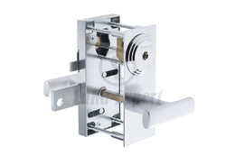 GARAGE DOOR RIM LOCK ABLOY RI207 + HANDLE 6180