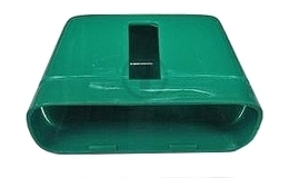 ABLOY 6428 EVACUATION COVER, PLASTIC (for narrow stile doors)