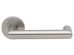DOOR HANDLE ABLOY INOXI 3-19K/032 STAINLESS STEEL (44-61 mm doors)