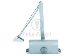 DOOR CLOSER HEAD DC60 SILVER, FOR INNER DOORS UP TO 60kg