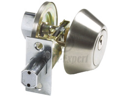 BOLT LOCK AMIG 1550 SATIN NICKEL BRASS