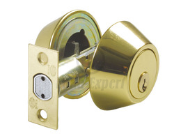 BOLT LOCK AMIG 1650 SATIN NICKEL BRASS