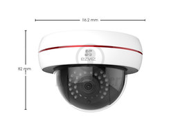 SECURITY GLOBE CAMERA EZVIZ C4S IP  2 MP, IR, WDR, WIFI