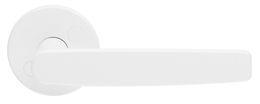 ДВЕРНАЯ РУЧКА ABLOY EXO 28/001 ЦИНК С ПОРОШКОВОЙ ОКРАСКОЙ В БЕЛЫЙ ЦВЕТ (RAL 9010; 40мм дверям)