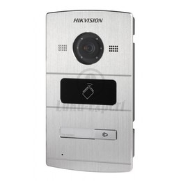 Water Proof Metal Villa Door Station HIKVISION DS-KV8102-IM (1,3 MP, for private residences, 1 buttons, card reader 13,56MHz)