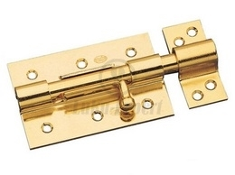 LATCH BOLT AMIG  454/70 BICHROMATED (lockable with padlock)