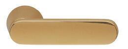DOOR HANDLE ABLOY DOMUS 12 SATIN BRASS (spring loaded, 55-80mm doors)