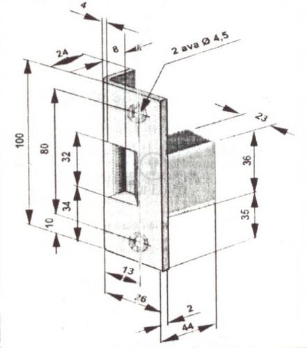ELEKTRILINE VASTURAUD SIENT 11S11B3 NC (impulss, 4190, mantel)