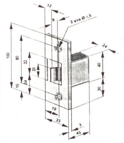 ELEKTRILINE VASTURAUD SIENT 12S21A1 NC (4190, sile)