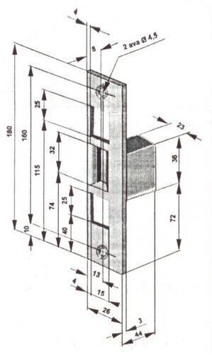 ELEKTRILINE VASTURAUD SIENT 32S11B1 NC (565, avatud servaga)
