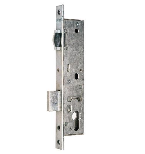 Euro Mortise Lock Nemef 9580 30mm Roller Type Lukuexpert